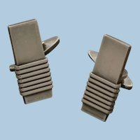 Georg Jensen Sterling Silver Cufflinks No. 80 by Harald Nielsen