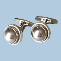 Georg Jensen Sterling Silver Cufflinks No. 44D by Harald Nielsen