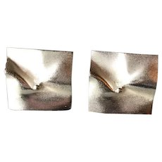 """Lapponia Sterling SIlver Pair of """"Galactica"""" Earrings"""
