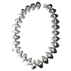 Georg Jensen Sterling Silver Necklace No. 106 by Nanna Ditzel
