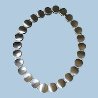 Georg Jensen Sterling Silver Modern Necklace No. 124 by Nanna Ditzel