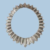 "Antonio Pineda ""Zig-Zag"" Sterling Silver Necklace"