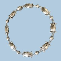 Georg Jensen Sterling Silver Necklace, No. 15