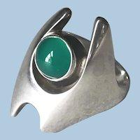 Georg Jensen Sterling Silver Ring by Henning Koppel No 139
