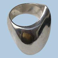Georg Jensen Sterling Silver Ring No. 91 by Nanna Ditzel