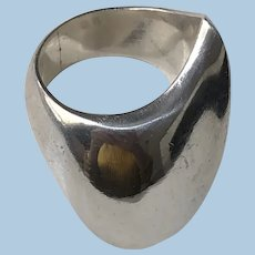 Georg Jensen Sterling Silver Ring No. 91 by Nanna Ditzel