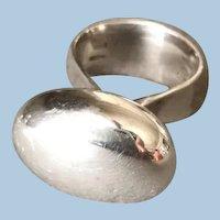 Georg Jensen Sterling Silver Ring No. 155 by Vivianna Torun Bulow-Hube