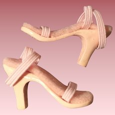 Great pair of pink heels for Dollikin Squirt size doll