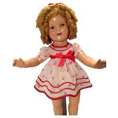 Original tagged Shirley Temple doll dress