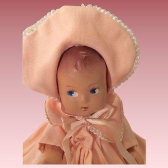 Precious dressed composition baby