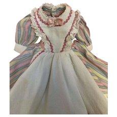 Madame Alexander vintage dress
