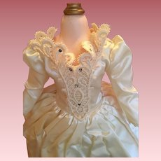 """Mint Madame Alexander tagged gown for 17-18"""" doll"""