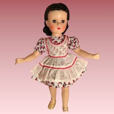 Tagged vintage dress and pinafore for Toni P-90 doll