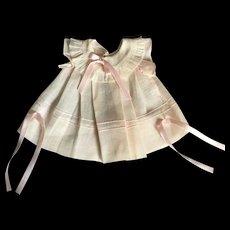 Light pink Shirley Temple doll dress
