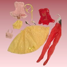 """Mixed lingerie items for Cissy or 20"""" fashion doll"""