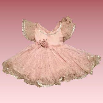 Vintage Ballerina dress for Alexander doll so pretty