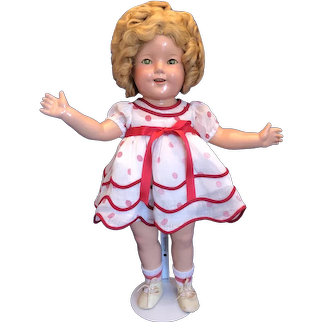 Ideal Shirley Temple composition doll