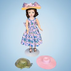 Three hats for Cissy or similar dolls