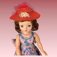 Original Madame Alexander Cissy hat