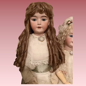 """Large 21"""" Wig for huge  German or French doll"""