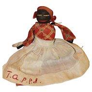 Stump Doll Body, Church Doll Antique Cloth Doll