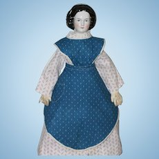 Special Antique Pressed Mary Todd China Doll