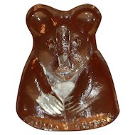 Riedel Crystal Teddy Bear For Doll or Teddy Collection