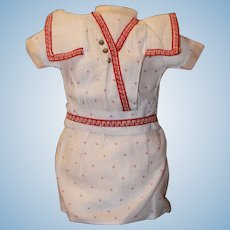 Factory Dress for German, French Bisque Bebe