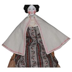 Sweet Antique  Cape for French Fashion, China Doll