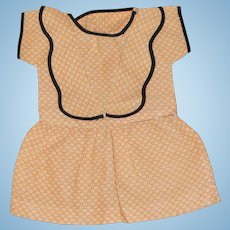 Sailor Collar Dress for Larger Composition, Plastic Doll