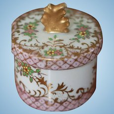 2 3/4 inHand Painted Container for Antique Doll