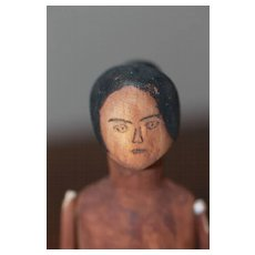 Unusual HM Wooden Doll