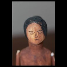 Unusual HM Wooden Doll