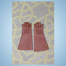 Antique Leather French Fashion Gloves