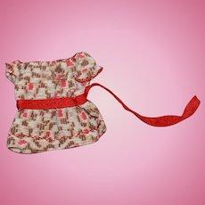 1860s Dress for Dollhouse Doll, Frozen Charlotte