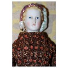 Antique Parian Empress Eugenie Beautiful!