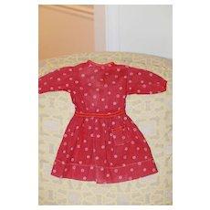Antique Calico Dress Bisque, Cloth Doll