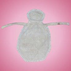 Antique Apron China, French Fashion, Cloth  Doll