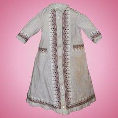 1860s-70s Dress Antique China, Fashion Doll
