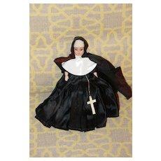 Plastic Nun Doll 1980s