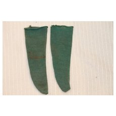 Old Stockings for Cloth, China, Bisque Doll