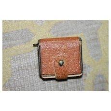 Antique Miniature Notebook Leather Bound
