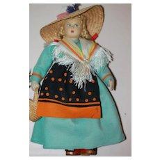 Italian Felt Doll