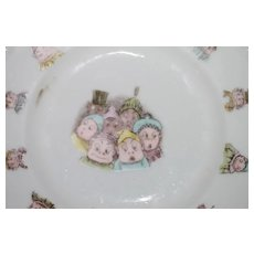 Palmer Cox Brownie Plate 7 in.