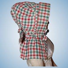 1880s Bonnet China, Cloth, Papier Mache Doll