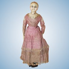 Mad Alice Antique Wax Doll