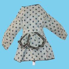 Antique Doll Dress Bebe, Cloth Teddy Bear