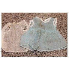Fac.Made Dress, Slip Bisque Doll