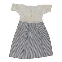 Antique Dress for Bisque, Cloth Doll