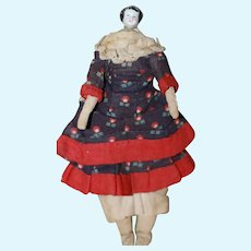 Unusual 1860 6in. China Doll